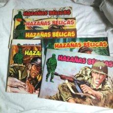 Tebeos: LOTE 7 CÓMICS HAZAÑAS BELICAS, AVENTURAS COMPLETAS, AÑO 1973. EDIT MARCO IBERICA. Lote 190191903