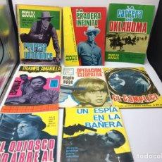 Tebeos: 8 COMICS VARIOS TORAY, ESPIONAJE BRIGADA SECRETA Y SIOUX (REVERSO Mª TERESA GIMPERA). Lote 190236153