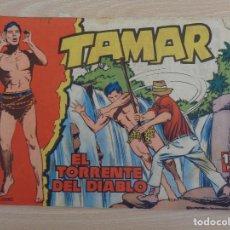 Tebeos: TAMAR Nº 5 EL TORRENTE DEL DIABLO. ORIGINAL. EDITA TORAY. Lote 190275672