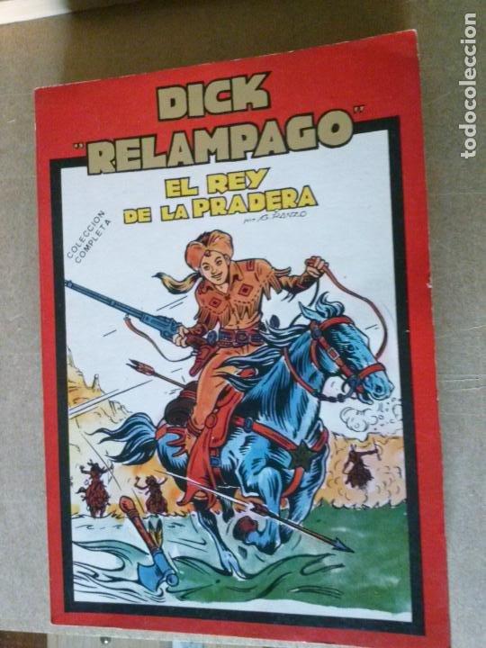 DICK RELAMPAGO - TOMO CON COL. COMPLETA MAS UN TOMO DENTRO DE JIM HURACAN - URSUS ,TORAY (Tebeos y Comics - Toray - Dick Relampago)