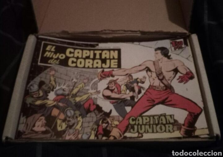 EL HIJO DEL CAPITÁN CORAJE COLECCIÓN COMPLETA CON SU ESTUCHE. (Tebeos y Comics - Toray - Otros)