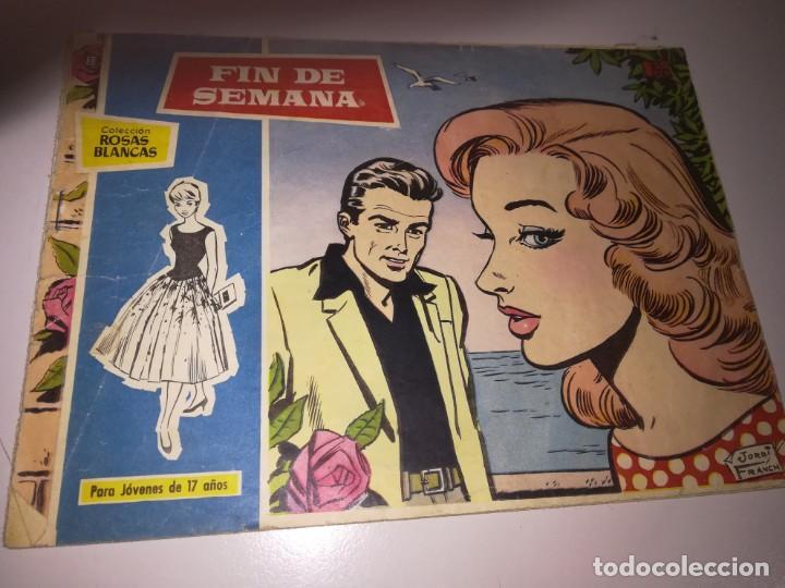 SUSANA, COLECCIÓN ROSAS BLANCAS Nº 33 - FIN DE SEMANA - TORAY REF. UR EST (Tebeos y Comics - Toray - Susana)