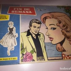 Tebeos: SUSANA, COLECCIÓN ROSAS BLANCAS Nº 33 - FIN DE SEMANA - TORAY REF. UR EST. Lote 190494827