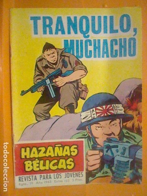 Tebeos: HAZAÑAS BELICAS TORAY N º 185 1965 TRANQUILO ABUELITO 32 PAG - Foto 5 - 190561285