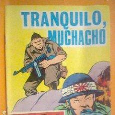 Tebeos: HAZAÑAS BELICAS TORAY N º 185 1965 TRANQUILO ABUELITO 32 PAG . Lote 190561285