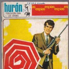 Tebeos: HURÓN Nº 36 - ESPÍAS - ARAÑA - 1968. Lote 190698098