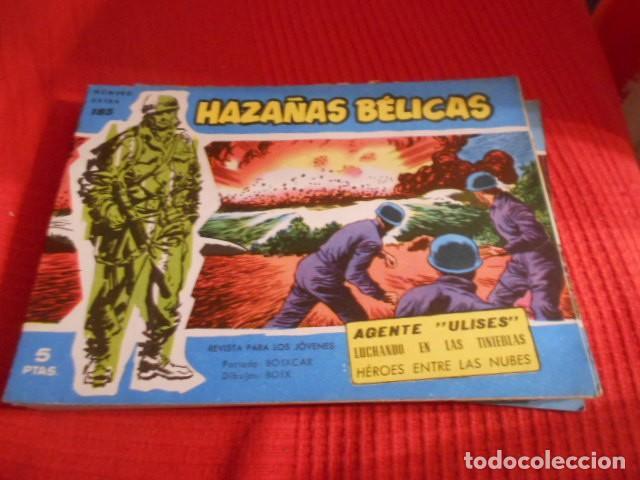 TORAY - HAZAÑAS BELICAS N 185 (Tebeos y Comics - Toray - Hazañas Bélicas)