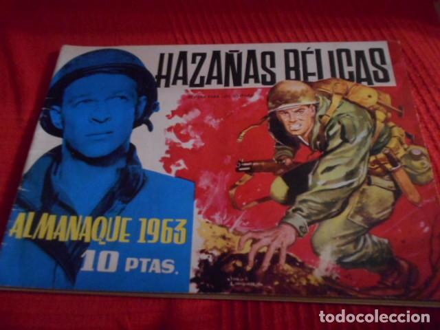 TORAY - HAZAÑAS BELICAS ALMANAQUE AÑO 1963 (Tebeos y Comics - Toray - Hazañas Bélicas)
