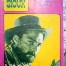 Tebeos: SIOUX- Nº 67 -PISTOLERO DE ALQUILER- GRAN JOSÉ DUARTE-1966-BUENO- MUY DIFÍCIL-LEAN- 2921. Lote 191369235