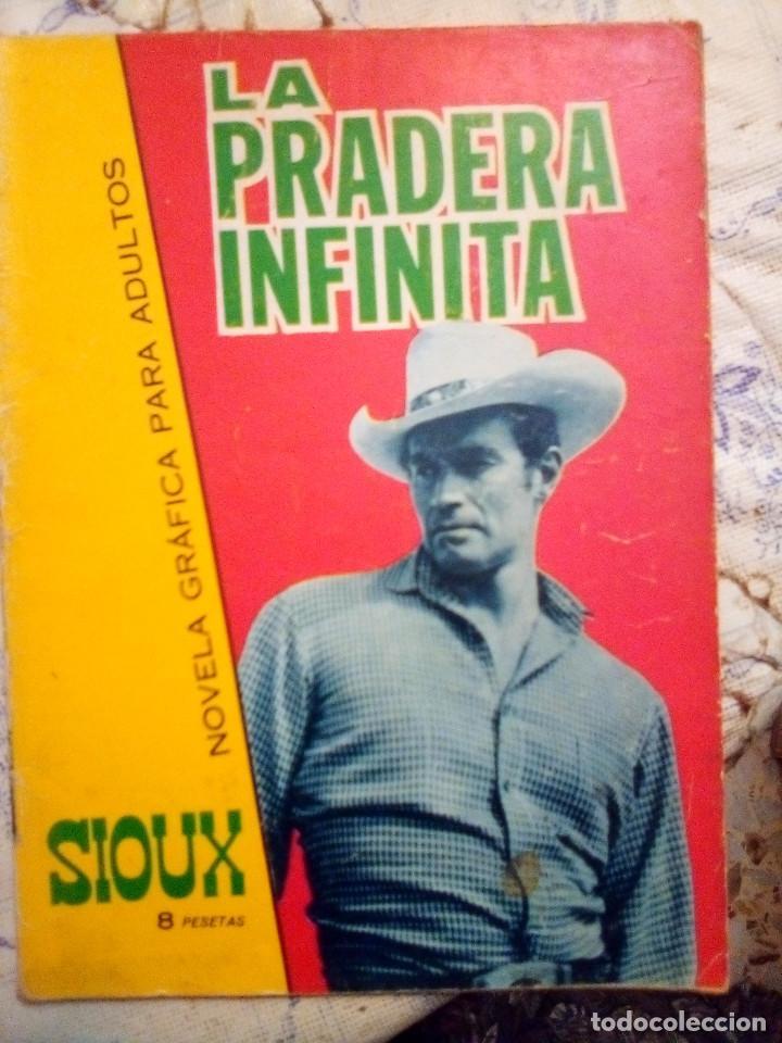 SIOUX- Nº 68 -LA PRADERA INFINITA-GRAN FULGENCIO CABRERIZO-1966-CORRECTO-MUY DIFÍCIL-LEAN- 2922 (Tebeos y Comics - Toray - Sioux)