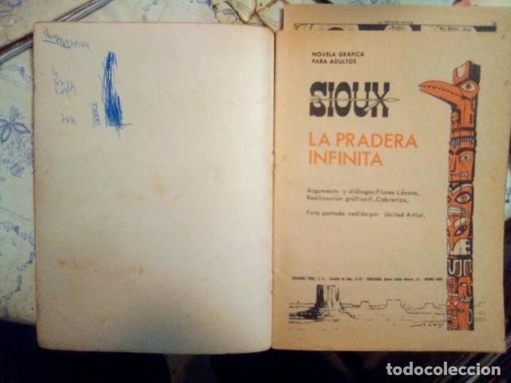 Tebeos: SIOUX- Nº 68 -LA PRADERA INFINITA-GRAN FULGENCIO CABRERIZO-1966-CORRECTO-MUY DIFÍCIL-LEAN- 2922 - Foto 4 - 191369977