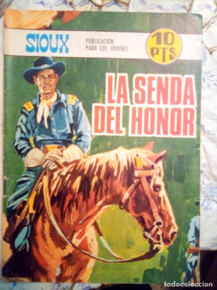 SIOUX- Nº 107 -LA SENDA DEL HONOR-GRAN JOSÉ DUARTE-1968-MUY BUENO-MUY DIFÍCIL-ÚNICO EN TC-LEAN- 2924 (Tebeos y Comics - Toray - Sioux)