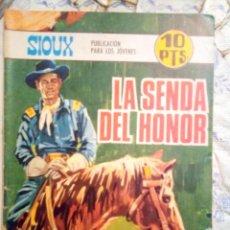 Tebeos: SIOUX- Nº 107 -LA SENDA DEL HONOR-GRAN JOSÉ DUARTE-1968-MUY BUENO-MUY DIFÍCIL-ÚNICO EN TC-LEAN- 2924. Lote 191375995