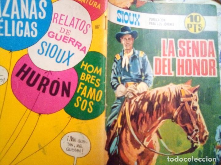 Tebeos: SIOUX- Nº 107 -LA SENDA DEL HONOR-GRAN JOSÉ DUARTE-1968-MUY BUENO-MUY DIFÍCIL-ÚNICO EN TC-LEAN- 2924 - Foto 2 - 191375995
