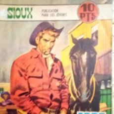 Tebeos: SIOUX- Nº 110 -FORT MUSTANG-GRAN JOSÉ DUARTE-1968-MUY BUENO-MUY DIFÍCIL-LEAN- 2925. Lote 191376918
