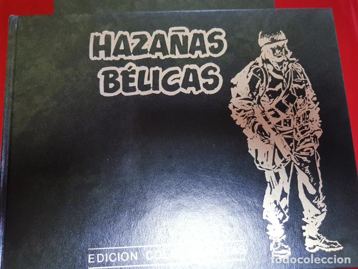 COLECCIÓN-HAZAÑAS BÉLICAS-1991-EDICIONES TORAY-10 TOMOS-VER FOTOS (Tebeos y Comics - Toray - Hazañas Bélicas)