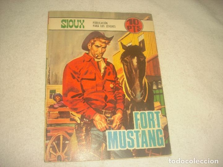 SIOUX N. 110. FORT MUSTANG (Tebeos y Comics - Toray - Sioux)