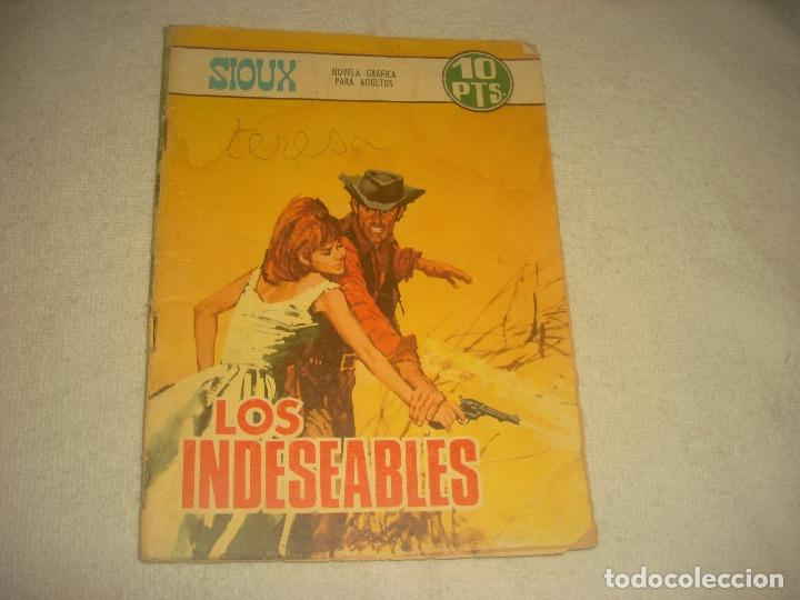 SIOUX N. 93. LOS INDESEABLES. (Tebeos y Comics - Toray - Sioux)