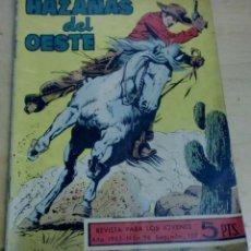 Tebeos: HAZAÑAS DEL OESTE FORAJIDOS Nº 96 EDICIONES TORAY AÑO 1965. Lote 191684057