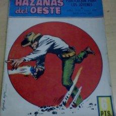 Tebeos: HAZAÑAS DEL OESTE COLT 45 Nº 222 EDICIONES TORAY AÑO 1970. Lote 191684140