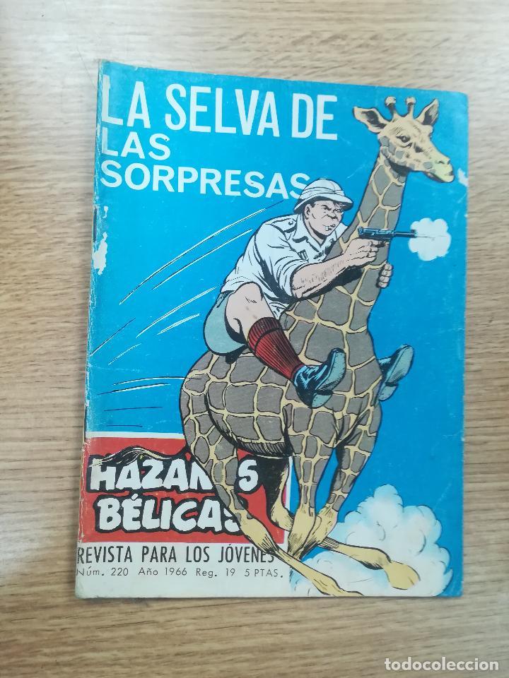 HAZAÑAS BELICAS #220 (Tebeos y Comics - Toray - Hazañas Bélicas)