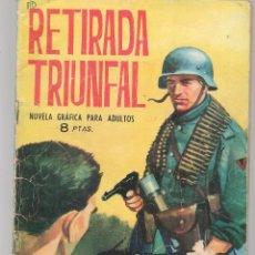 Tebeos: HAZAÑAS BÉLICAS. Nº 75. RETIRADA TRIUNFAL. NOVELA GRÁFICA. EDICIONES TORAY. (P/C59). Lote 191899026