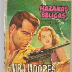 Tebeos: HAZAÑAS BÉLICAS. Nº 79. EMBAJADORES DEL TERROR. NOVELA GRÁFICA. EDICIONES TORAY. (P/C59). Lote 191899161