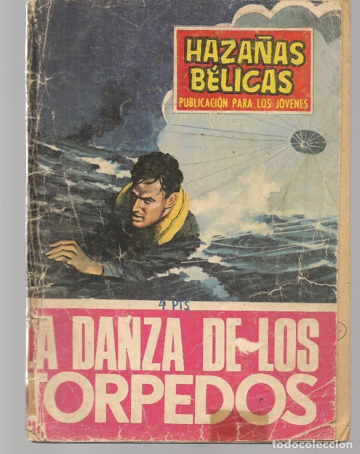 HAZAÑAS BÉLICAS. Nº 208. LA DANZA DE LOS TORPEDOS. NOVELA GRÁFICA. EDICIONES TORAY. (P/C59) (Tebeos y Comics - Toray - Hazañas Bélicas)