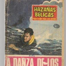 Tebeos: HAZAÑAS BÉLICAS. Nº 208. LA DANZA DE LOS TORPEDOS. NOVELA GRÁFICA. EDICIONES TORAY. (P/C59). Lote 191900292