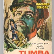 Tebeos: HAZAÑAS BÉLICAS. Nº 149. TUMBA DE ACERO. NOVELA GRÁFICA. EDICIONES TORAY. (P/C59). Lote 191900386