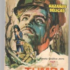 Tebeos: HAZAÑAS BÉLICAS. Nº 149. TUMBA DE ACERO. NOVELA GRÁFICA. EDICIONES TORAY. (P/C59). Lote 191900517
