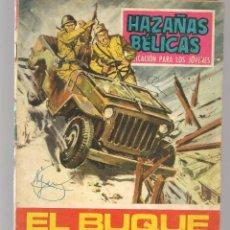 Tebeos: HAZAÑAS BÉLICAS. Nº 183. EL BUQUE FANTASMA. NOVELA GRÁFICA. EDICIONES TORAY. (P/C59). Lote 191900965