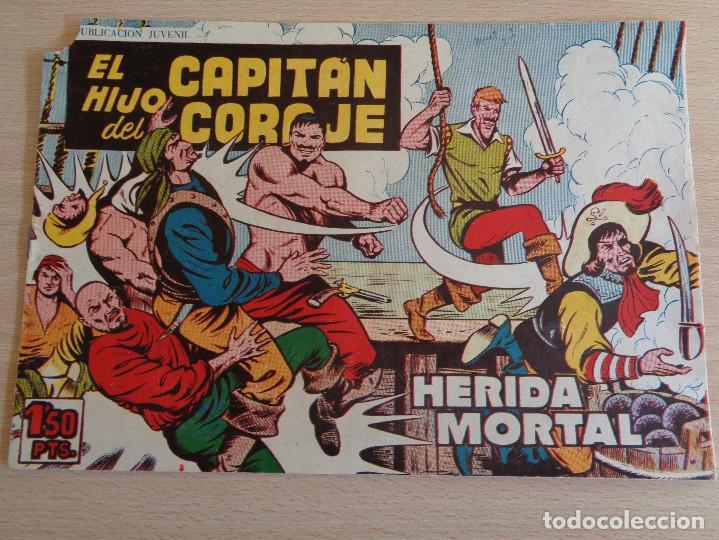 EL HIJO DEL CAPITÁN CORAJE Nº 42. HERIDA MORTAL. ORIGINAL. EDITA TORAY 1958 (Tebeos y Comics - Toray - Otros)