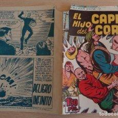Tebeos: EL HIJO DEL CAPITÁN CORAJE Nº 20. LA TIERRA DE LOS MIL FUEGOS. ORIGINAL. EDITA TORAY 1958. Lote 191923906