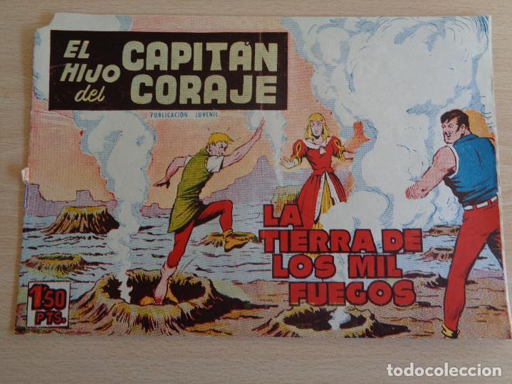 Tebeos: El Hijo del Capitán Coraje Nº 20. La Tierra de los Mil Fuegos. Original. Edita Toray 1958 - Foto 2 - 191923906