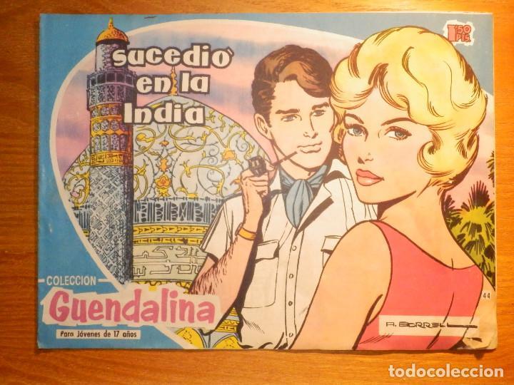 TEBEO - COMIC - COLECCIÓN GUENDALINA - Nº 44 - SUCEDIO EN LA INDIA - TORAY (Tebeos y Comics - Toray - Guendalina)