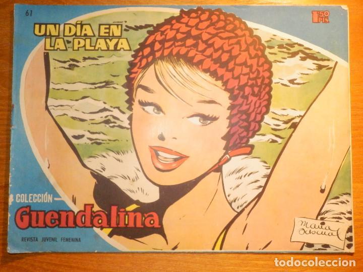 TEBEO - COMIC - COLECCIÓN GUENDALINA - Nº 61 - UN DÍA EN LA PLAYA - TORAY (Tebeos y Comics - Toray - Guendalina)