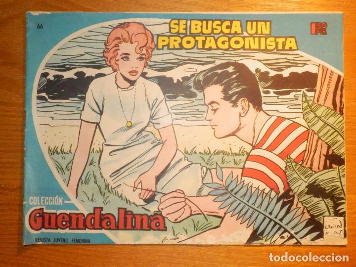 TEBEO - COMIC - COLECCIÓN GUENDALINA - Nº 66 - SE BUSCA UN PROTAGONISTA - TORAY (Tebeos y Comics - Toray - Guendalina)
