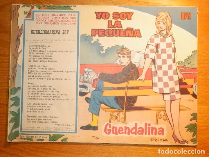 TEBEO - COMIC - COLECCIÓN GUENDALINA - Nº 105 - YO SOY LA PEQUEÑA - TORAY (Tebeos y Comics - Toray - Guendalina)
