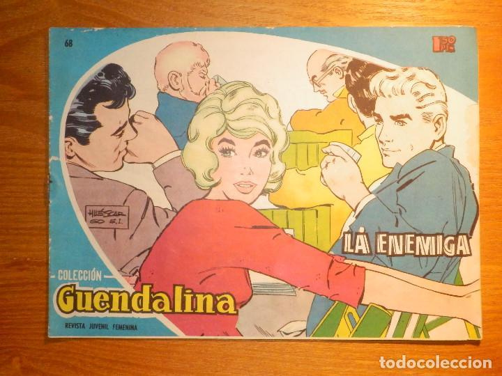 TEBEO - COMIC - COLECCIÓN GUENDALINA - Nº 68 - LA ENEMIGA - TORAY (Tebeos y Comics - Toray - Guendalina)