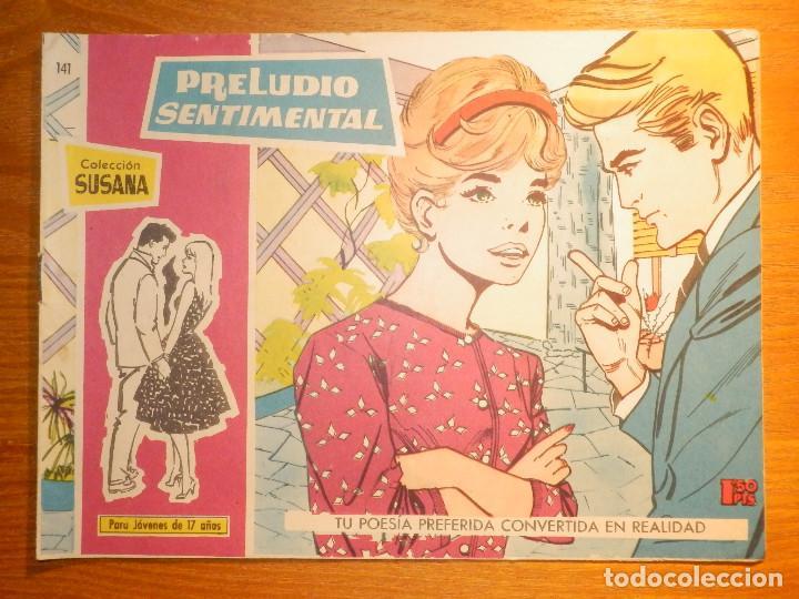 TEBEO - COMIC - COLECCION SUSANA - PRELUDIO SENTIMENTAL - Nº 141 EDICIONES TORAY (Tebeos y Comics - Toray - Susana)