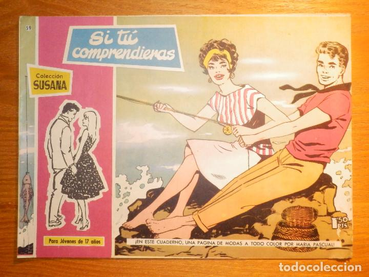 TEBEO - COMIC - COLECCION SUSANA - PRELUDIO SENTIMENTAL - Nº 59 - EDICIONES TORAY (Tebeos y Comics - Toray - Susana)