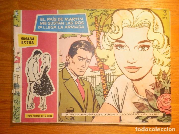 TEBEO - COMIC - COLECCION SUSANA - EXTRA - EL PAÍS DE MARTÍN, ME GUSTAN LAS DOS, YA LLEGA LA A TORAY (Tebeos y Comics - Toray - Susana)