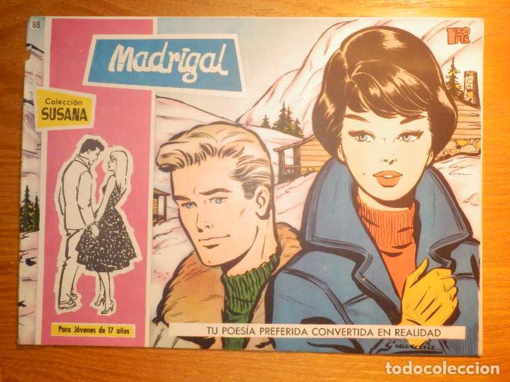 TEBEO - COMIC - COLECCION SUSANA - Nº 88 - MADRIGAL - EDICIONES TORAY (Tebeos y Comics - Toray - Susana)