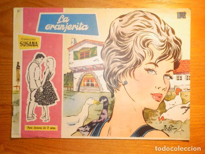TEBEO - COMIC - COLECCION SUSANA - Nº 30 - LA GRANJERITA - EDICIONES TORAY (Tebeos y Comics - Toray - Susana)