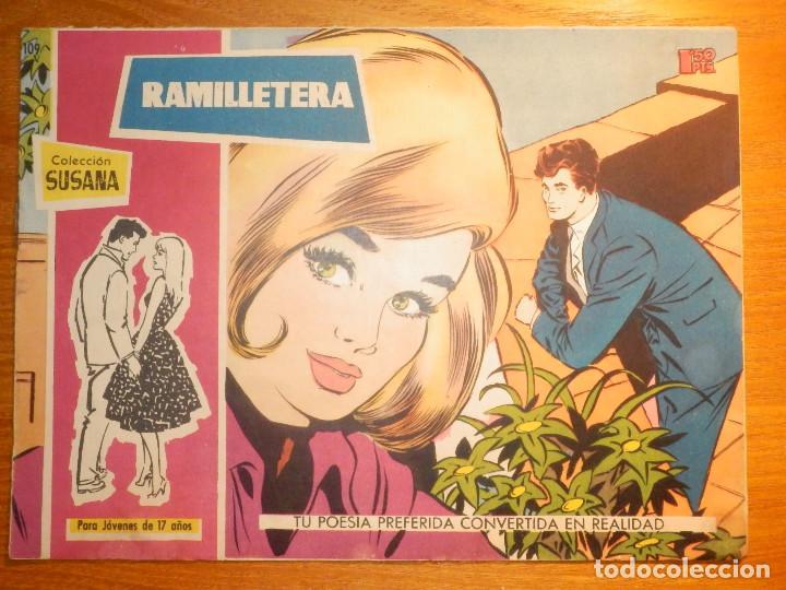 TEBEO - COMIC - COLECCION SUSANA - Nº 109 - RAMILLETERA - EDICIONES TORAY (Tebeos y Comics - Toray - Susana)