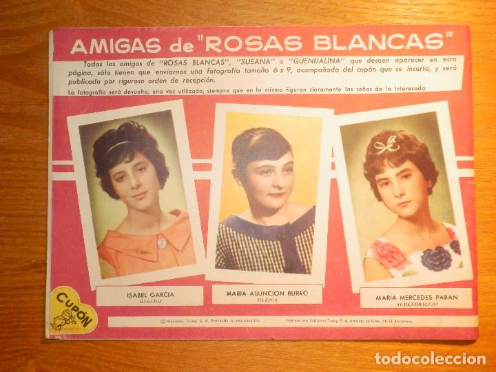 Tebeos: TEBEO - COMIC - COLECCION Rosas Blancas - Nº 62 - Hola Pequeña - Ediciones TORAY - Foto 2 - 192028428