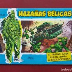 Tebeos: HAZAÑAS BÉLICAS VOLUMEN Nº 20 TORAY 1957 ORIGINAL IMPECABLE. Lote 192044888