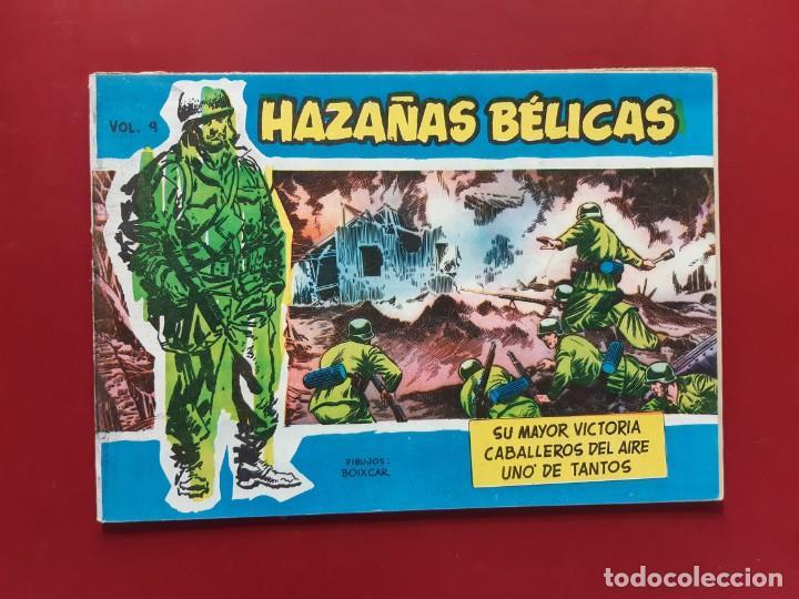 HAZAÑAS BÉLICAS VOLUMEN Nº 9 TORAY 1957 ORIGINAL IMPECABLE (Tebeos y Comics - Toray - Hazañas Bélicas)