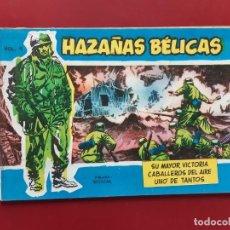 Tebeos: HAZAÑAS BÉLICAS VOLUMEN Nº 9 TORAY 1957 ORIGINAL IMPECABLE. Lote 192046381